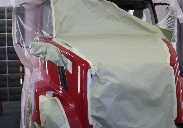 Tractor Fleet Painting