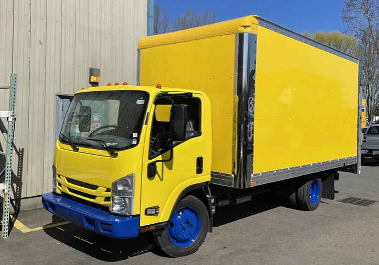Box Truck Fleet Painting